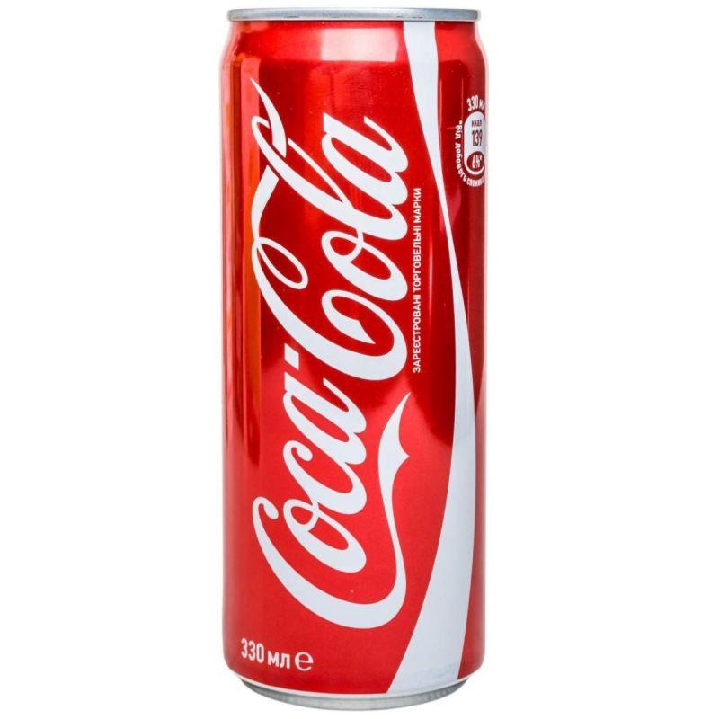 Кока кола (0,33 л)