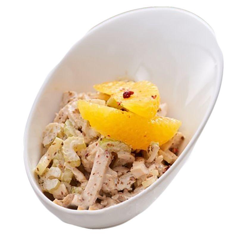 Салат з куркою та апельсинами