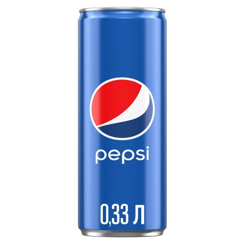 Пепсі кола (0,33 л)