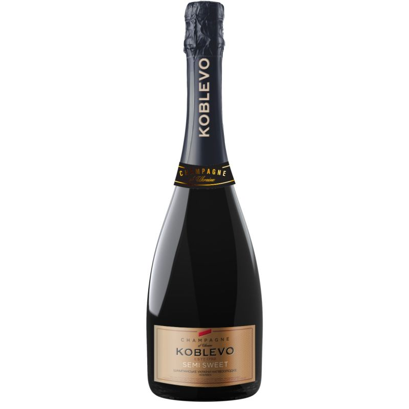 Шампанське Коблево напівсолодке