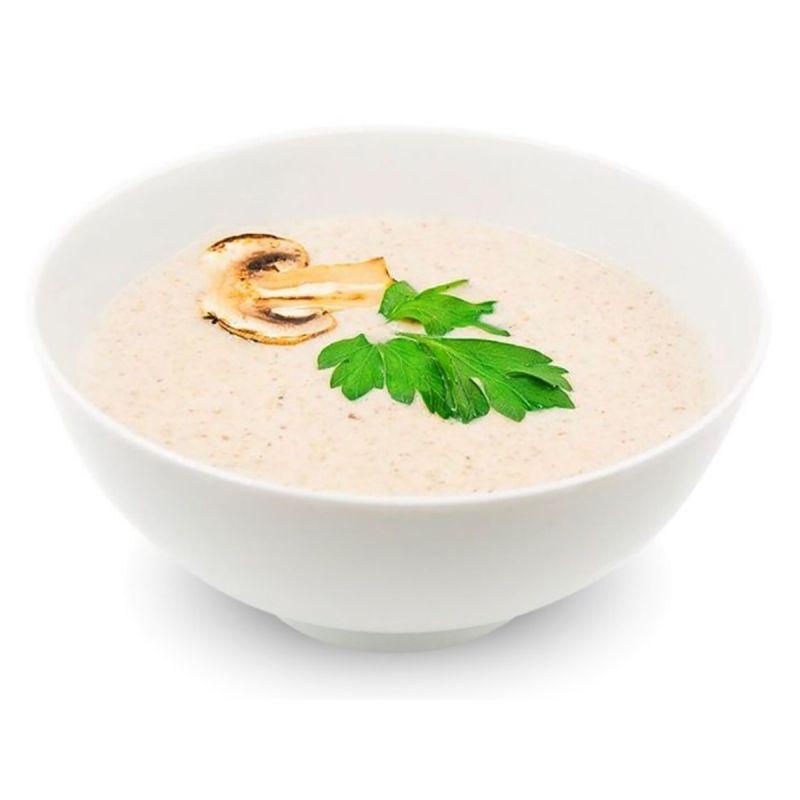 Суп-пюре з грибами