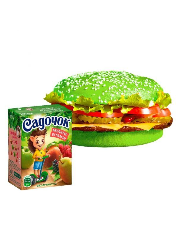 Burger school combo