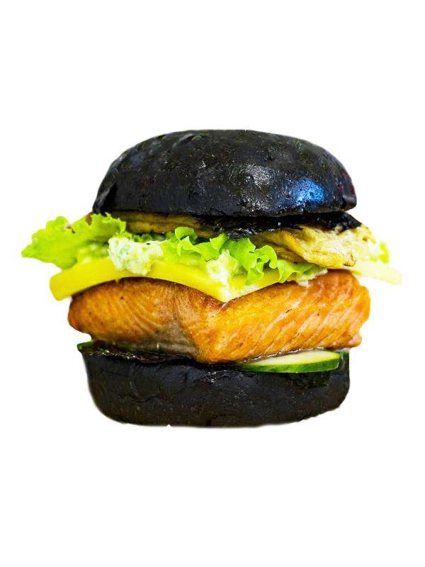 Бургер «Black fish»