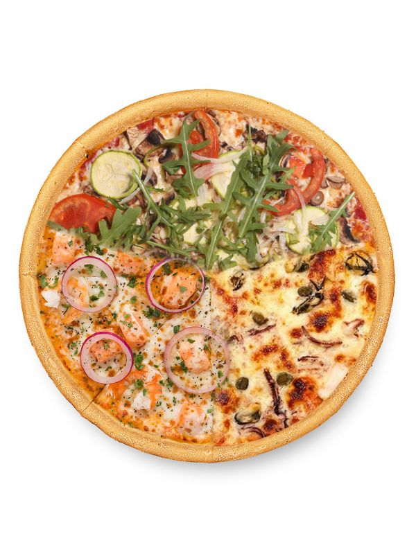 Піца Морське тріо